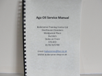 Aga Vaporising Oil Service Manual. Instructions