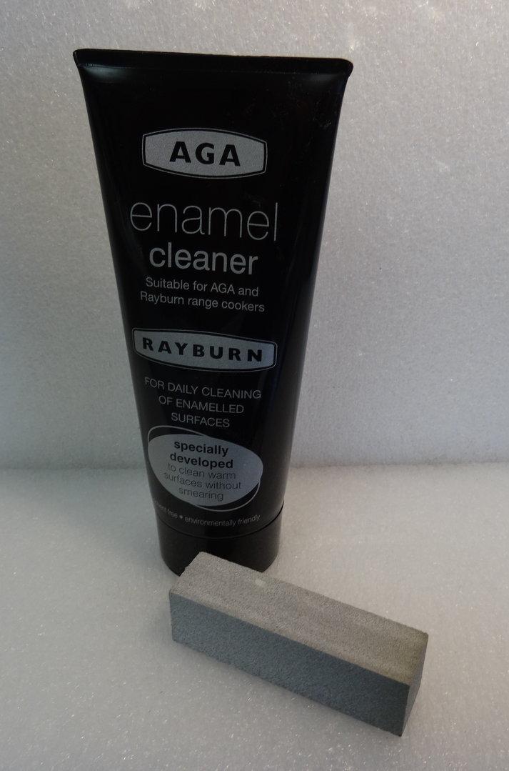 Aga Amp Rayburn New Amp Improved Enamel Cleaner Amp Scrubber Kit